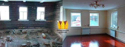 Внутренний ремонт старого дома своими руками